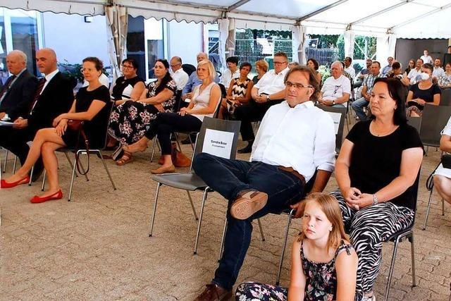 Die alte Pfarrscheune in Schuttertal ist eingeweiht worden