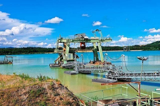 Forscher gehen dem Rimsinger Baggersee auf den Grund