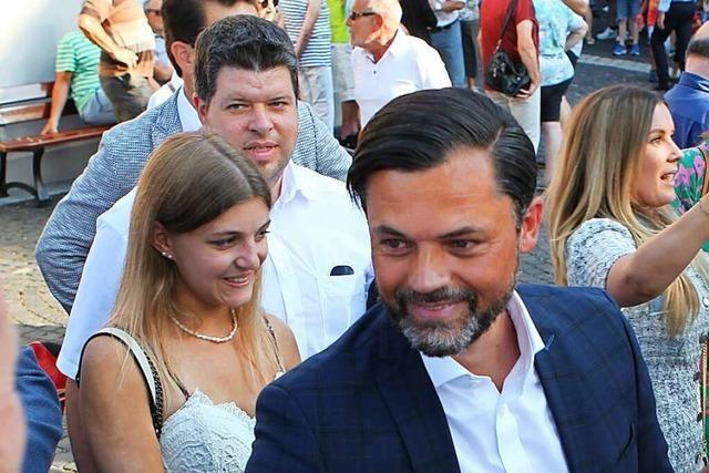 Andreas Heck wird neuer Bürgermeister von Hohberg