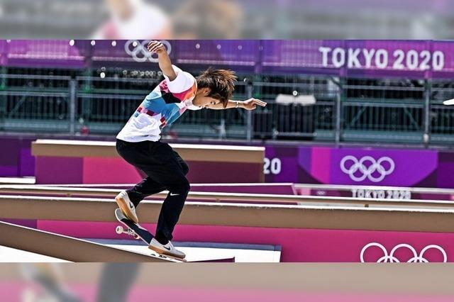 Erstes Skate-Gold der Geschichte für Japan