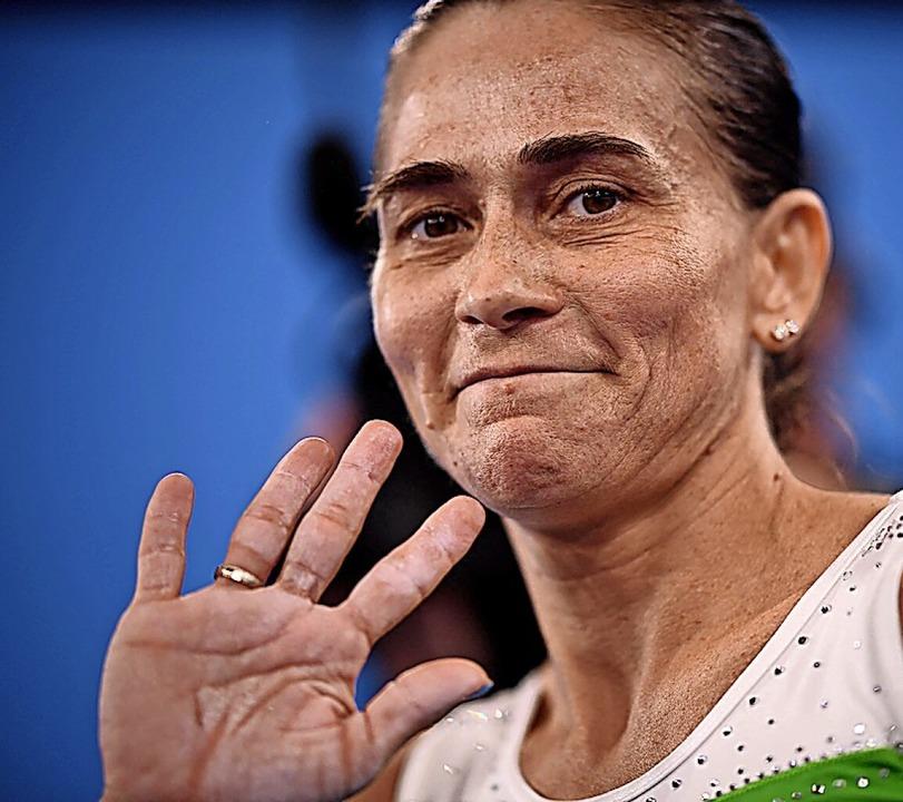 Verabschiedete sich mit 46 Jahren von ...ochmal das Sprung-Finale zu erreichen.  | Foto: LOIC VENANCE (AFP)