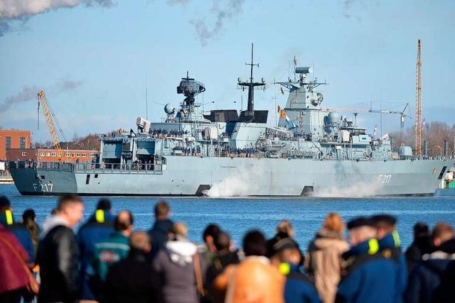 Deutschland schickt Kriegsschiff in den Indopazifik