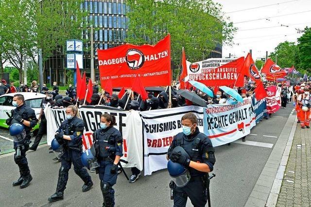 Es ist fatal, dass Freiburgs Antifa nicht von der Gewalt lassen will