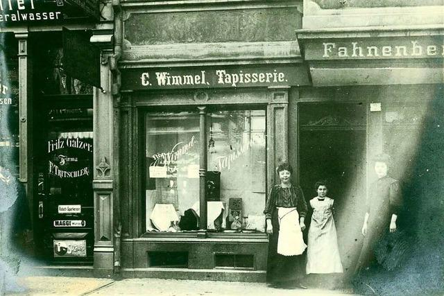 An der Salzstraße gab es vor mehr als 100 Jahren eine Tapisserie