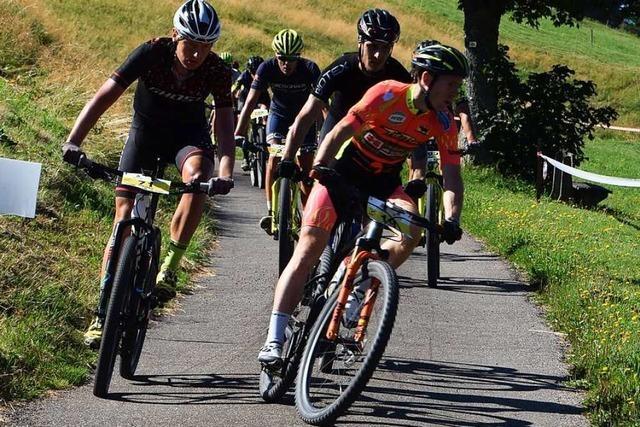 Notschrei ist das Ziel des Rothaus Bike Giro Hochschwarzwald
