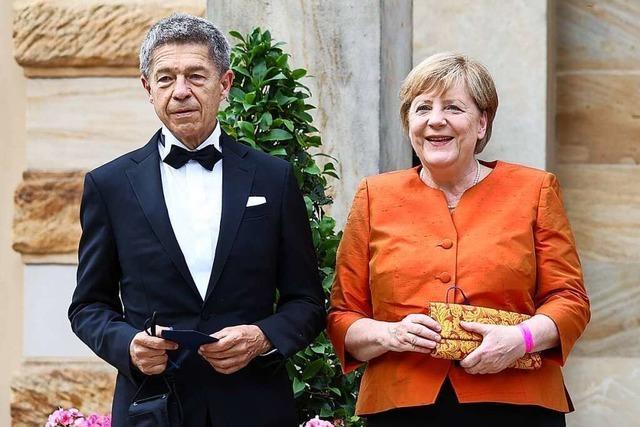 Abschied vom First Husband: Joachim Sauer in Bayreuth