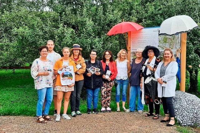 Gewitter und Regen verhindern Kunstausstellung in Grenzach-Wyhlen
