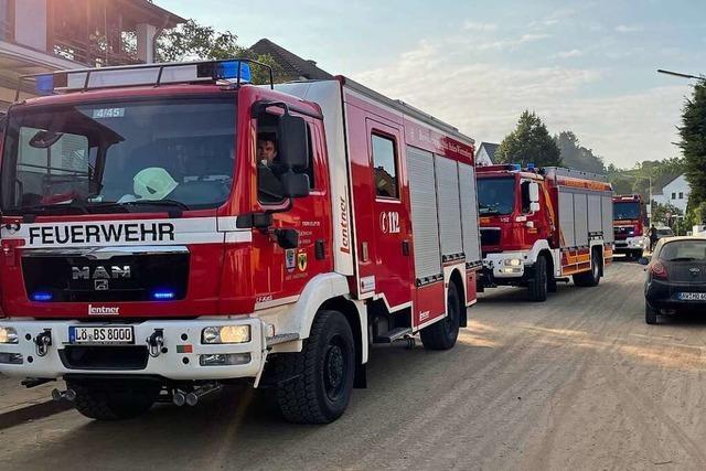 Wie Helfer von Feuerwehr und THW den Katastropheneinsatz erlebt haben
