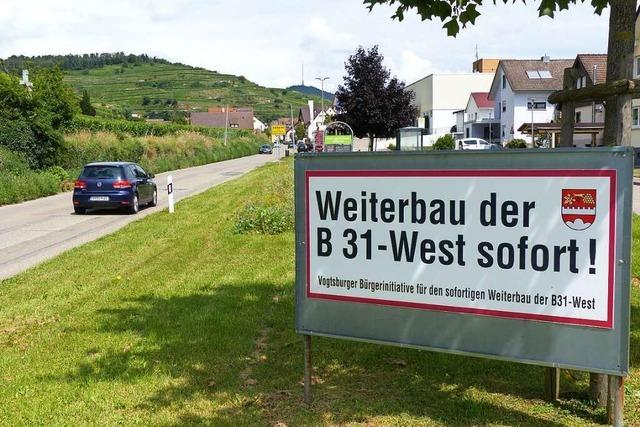 Vogtsburg vermisst beim Ausbau der B 31 West Maßnahmen zur Verkehrsentlastung