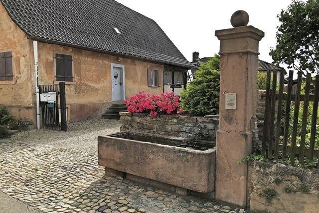 Blick auf das historische Ortsbild