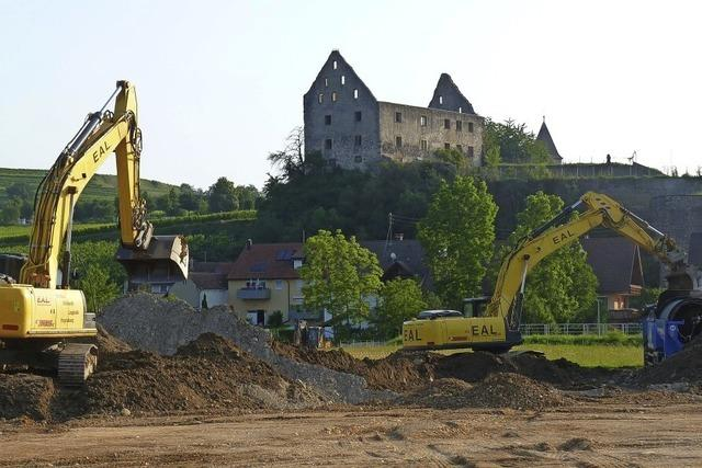Gewerbegebiet mit Schlossblick