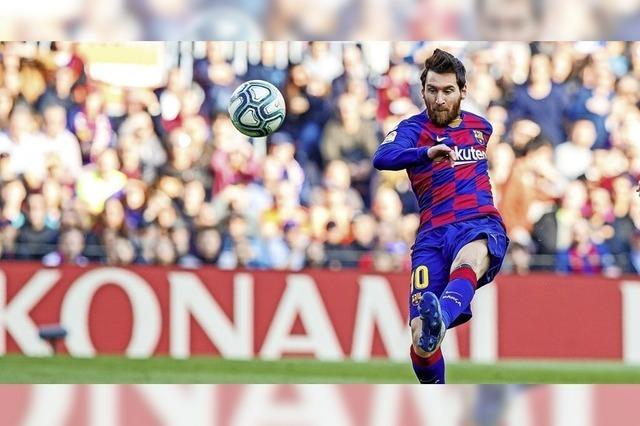 FC Barcelona im Trainingslager auf der Baar
