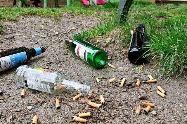 Rauchen wird auf Freiburgs Spielplätzen verboten, Alkohol nicht