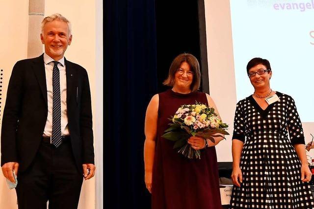 Angela Heidler ist neue Stadtdekanin der Evangelischen Kirche in Freiburg