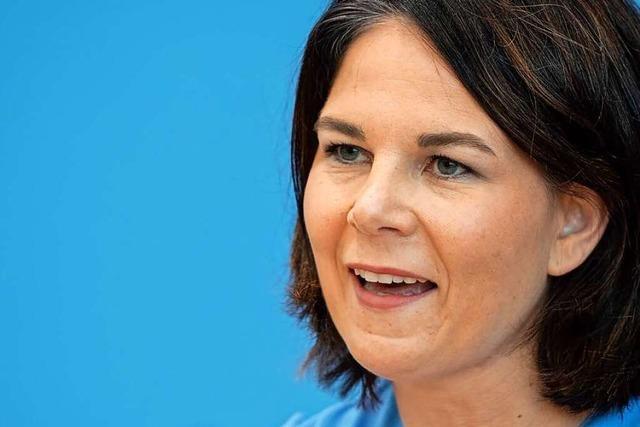 Baerbock kritisiert Klimaschutzpolitik der CDU