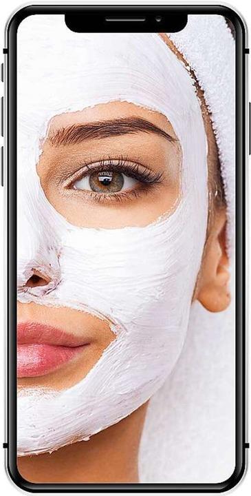 Gesichtsmaske auf dem Handy-Bildschirm    Foto: ©Valua Vitaly  (stock.adobe.com)