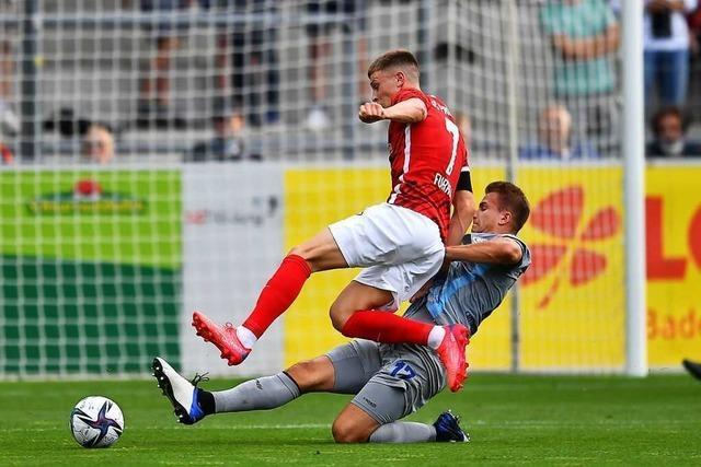 Der SC Freiburg II spielt 0:0 bei seinem Drittliga-Debüt
