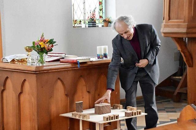 Plan für die Renovierung der Adelbergkirche vorgestellt