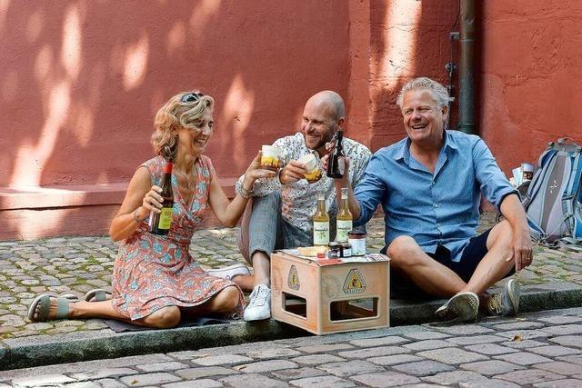 Das Bächlepicknick soll Freiburgs Innenstadt beleben