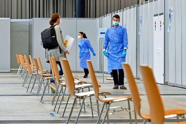 Impfzentren im Land sind nur noch zu etwa einem Drittel ausgelastet