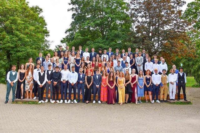 Kirchzartener Abiturjahrgang glänzt mit Notenschnitt von 1,9