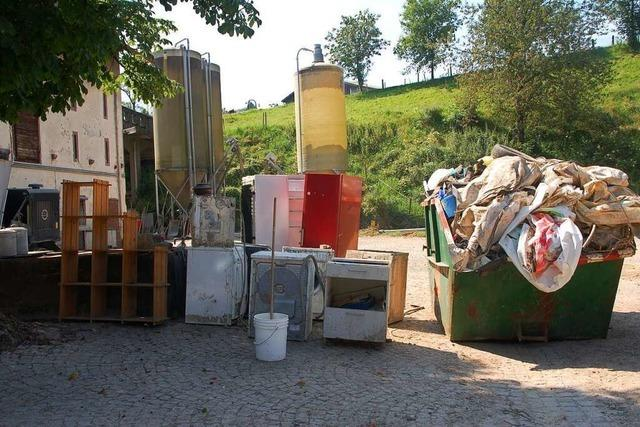 Hagenbacher Hof leidet schwer unter den Folgen des Starkregens