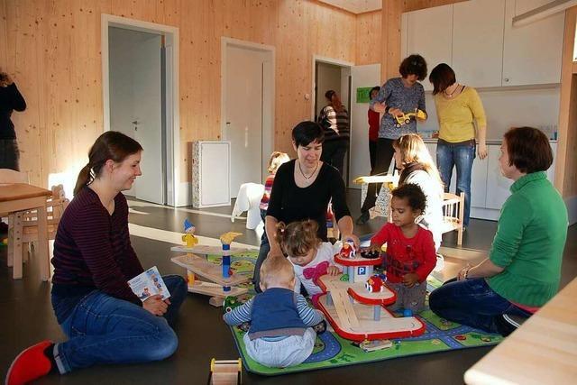 160 Kinder stehen in Weil am Rhein auf der Warteliste für einen Kindergartenplatz