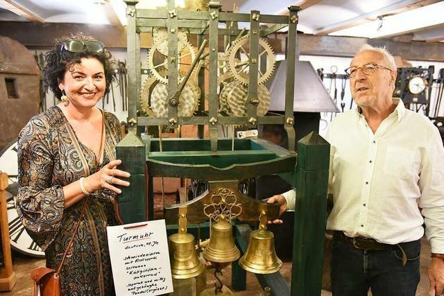 Das Freiämter Turmuhrenmuseum bekommt Zuwachs