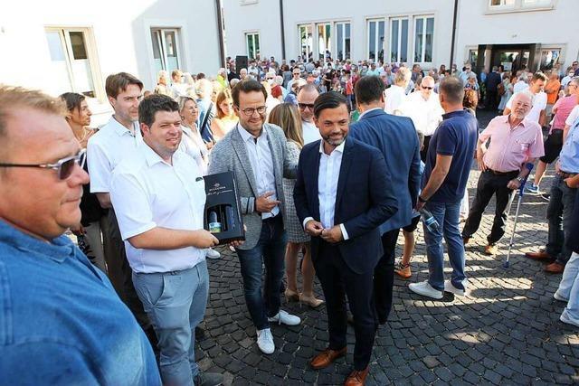 Regina Heilig folgt auf Andreas Heck, der als Bürgermeister nach Hohberg geht