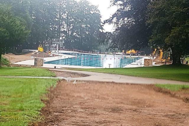 In Bad Säckingen bleibt das Schwimmbad diesen Sommer zu