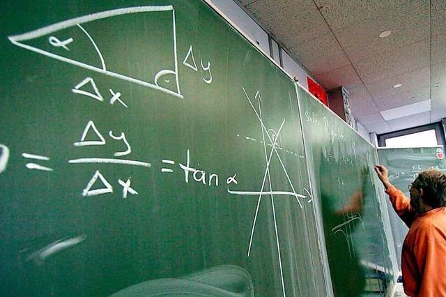 1000 Zeichen Liebe: Matheunterricht