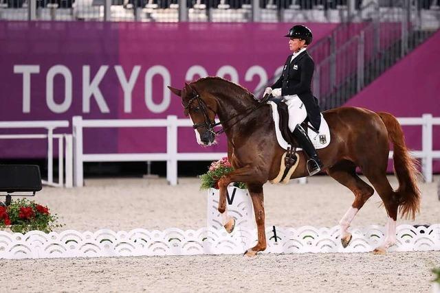 Deutsches Dressur-Dreamteam siegt souverän und feiert Olympia-Gold