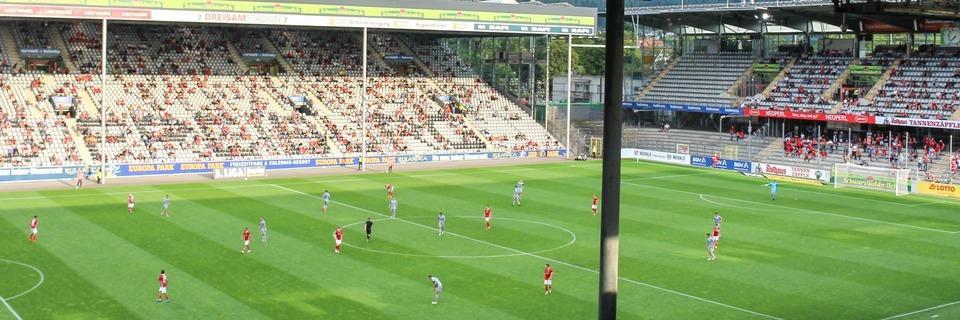 Wie war's beim ... ersten Profi-Fußballspiel in Freiburg vor Publikum?