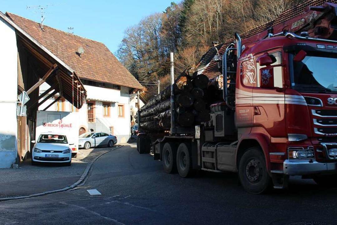 Schwer belastet mit Lärm - auch wegen ...ind die Ortschaften entlang der L 139.    Foto: Martin Klabund