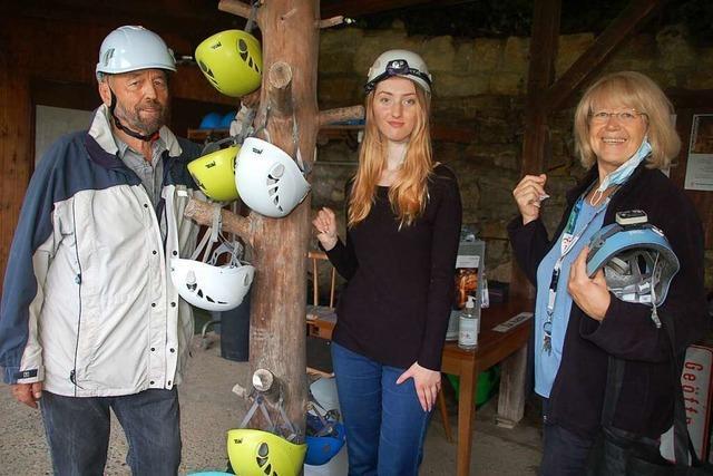 Jetzt geht es wieder in die Tschamberhöhle in Karsau