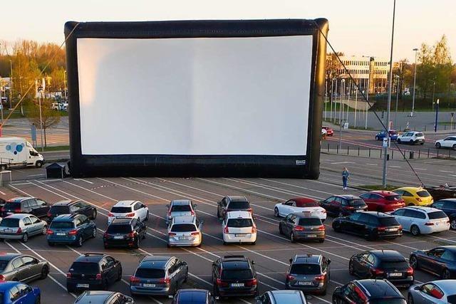 Autokino als Alternative zum Kieswerk Open Air in Weil am Rhein