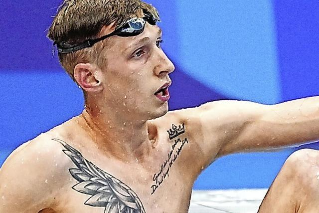 Alle Hoffnungen ruhen auf Florian Wellbrock