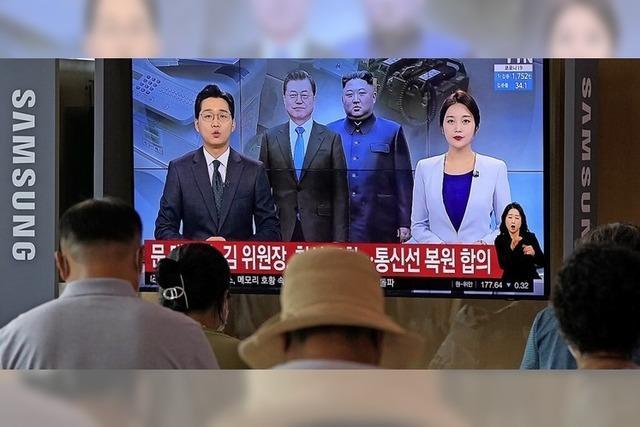 Die beiden Koreas reden wieder miteinander