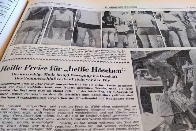 Im Schlussverkauf 1971 waren