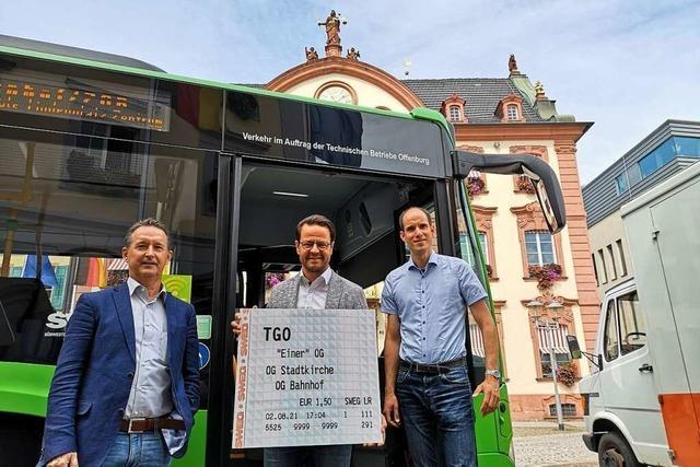 Offenburg startet am 1. August das Ein-Euro-Ticket