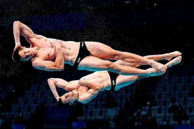 Wasserspringer Hausding und Rüdiger gewinnen Olympia-Bronze