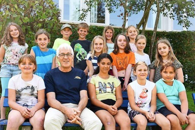 Joachim Veit war 30 Jahre Schulleiter an einer Minischule in Weitenau