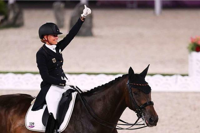 Dressurreiterin Bredow-Werndl holt zweite Goldmedaille