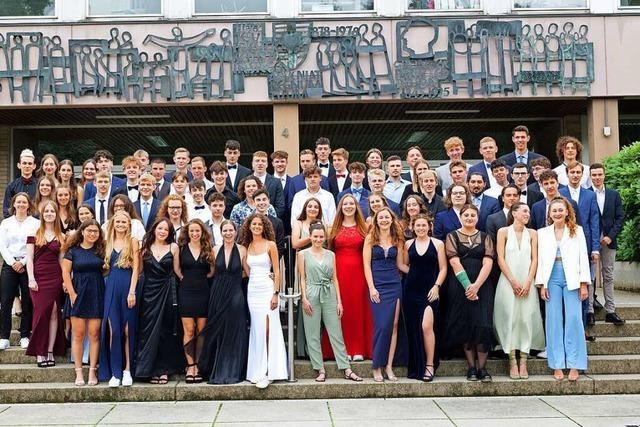 Der Abiturjahrgang 2021 verabschiedet sich aus dem Kolleg St. Sebastian in Stegen
