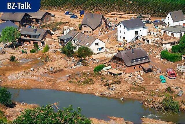 BZ-Talk mit Adrian Probst über seinen Einsatz im Hochwassergebiet