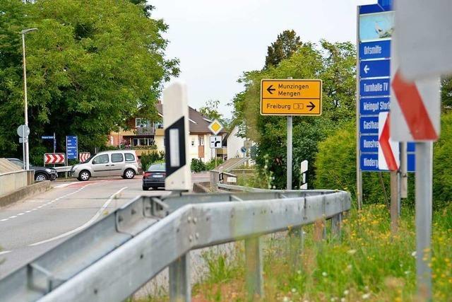 Kreisel an der B3 kostet Gemeinde Schallstadt etwa eine Million Euro
