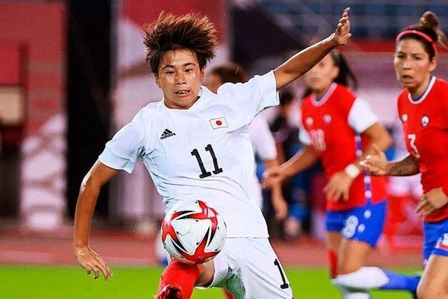 Die japanische Frauen-Nationalmannschaft soll hohe Erwartungen erfüllen