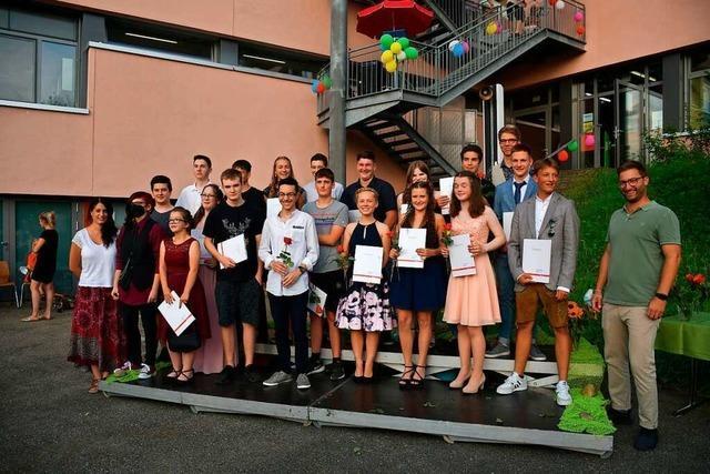 55 Schüler an der August-Macke-Schule Kandern haben bestanden