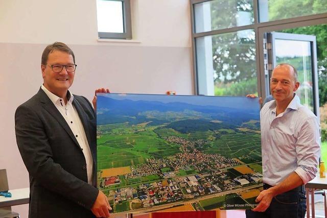 Der Gemeinderat hat Bürgermeister Fritz Deutschmann verabschiedet