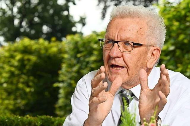 Kretschmann besorgt wegen Stimmung im Wahlkampf
